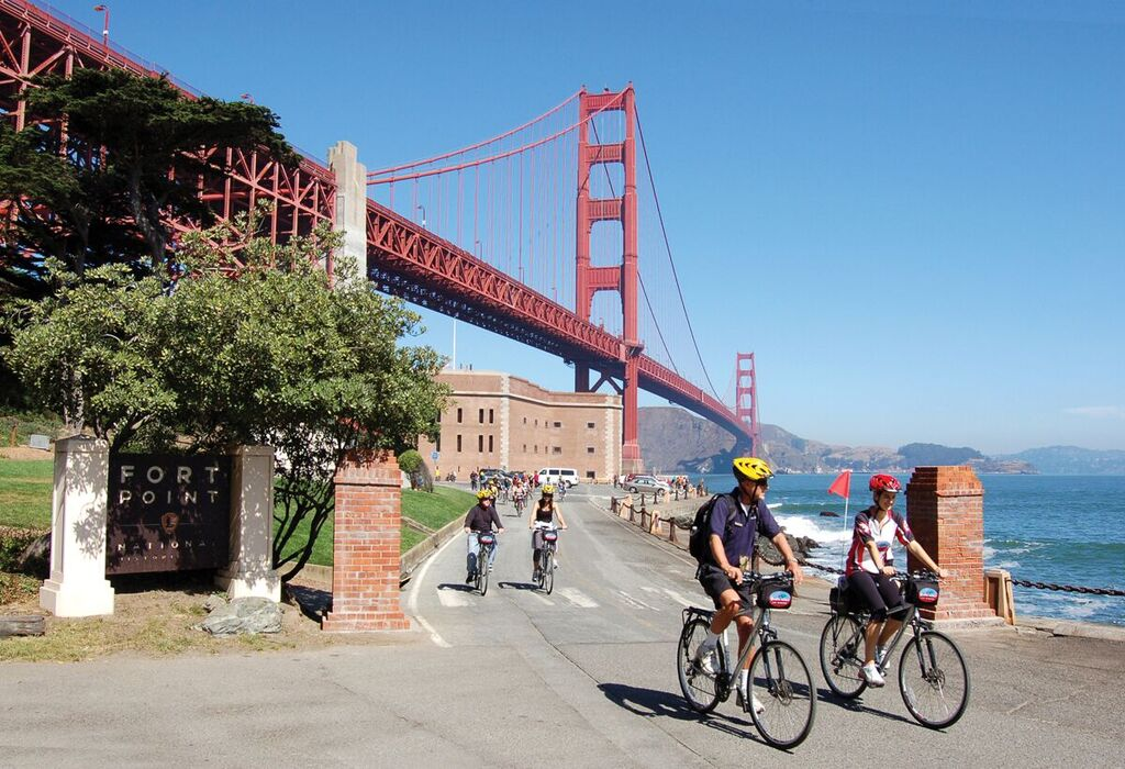 Golden Gate To Sausalito E Bike Usa Radtouren